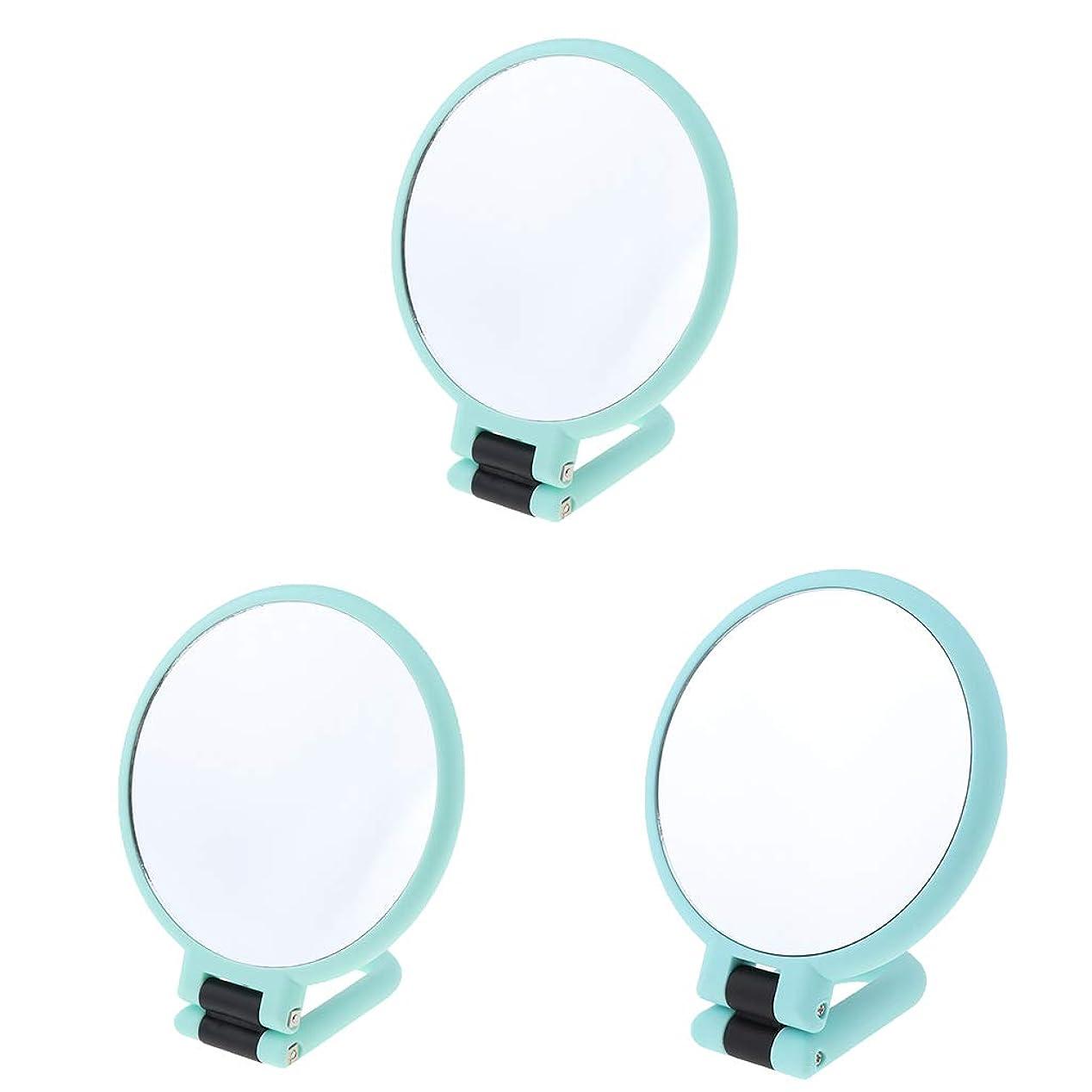 メルボルンベンチ名詞SM SunniMix 化粧鏡 折りたたみ式 両面ミラー 化粧ミラー 拡大鏡 全2選択 - 2倍/ 3倍/ 15倍