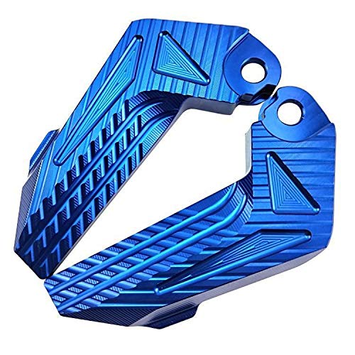 LIWIN Motoraccessoires Motorcycle Rear Voetensteun Pedalen for Elektrische Scooter NIU N1 N1S Originele vervangende (Color : Multiblue one pair)