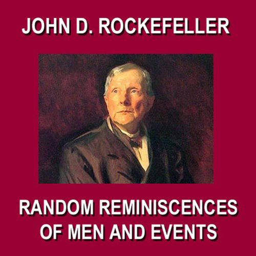 Random Reminiscences of Men and Events audiobook cover art