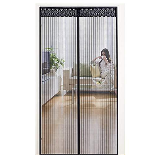 B•You Mosquitera Puerta,Mosquiteras para Puertas con Poderoso Imanes y Marco Completo Velcro para Cocina Cuarto Sala de Piano Sala de Estar 39 * 83 Inch
