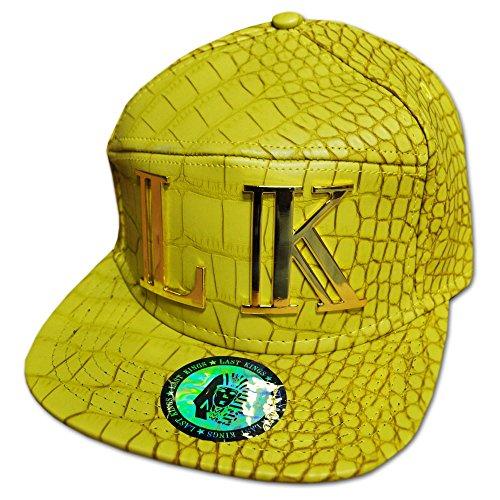 LK Last Kings Dense Couleur Moutarde Hip Hop Casquette Réglable (Mustard)