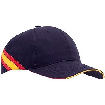 pc Gorra Negra Bandera de España Regulable Padel Golf: Amazon.es ...