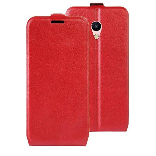 NEKOYA MEIZU M5S Hülle,MEIZU M5S Lederhülle, Handyhülle im Brieftasche-Stil für MEIZU M5S.Schutzhülle mit [TPU Innenschale] [Standfunktion] [Kartenfach] [Magnetverschluss]