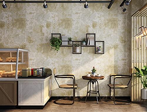 Papel pintado Retro amarillo retro americano nostálgico óxido rojo estilo industrial Dormitorio Juvenil Papel Pared Autoadhesivo Habitacion Revestimiento Colores Para Muebles