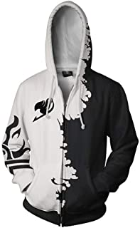 FS-LIFE Fairy Tail Anime Printing Coat