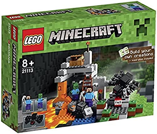 LEGO Minecraft - 21113 - Jeu De Construction - La Grougete