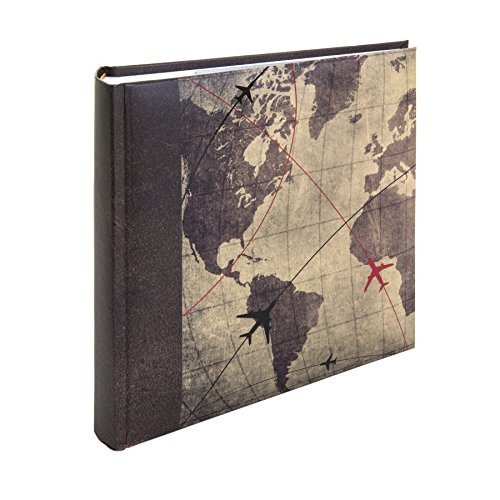 Kenro Holiday Series Memo Photo Album, Global Traveller Design, for 200 Photos 6x4