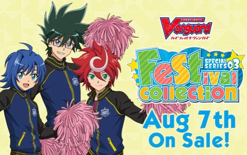 Cardfight Vanguard V-SS03 Festival Collection Booster Box - 10 Packs