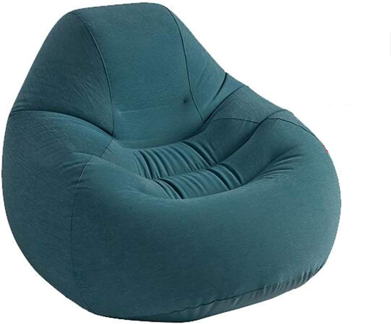 Sofas Bean Bags portable Cuddle Chair Washable Baby Sofa Kids Bedroom Fur (color   Green, Size   127  122  81cm)