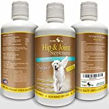TerraMax Pro Best Hip and Joint Supplement for Dogs - Liquid Glucosamine w/Chondroitin MSM and Hyaluronic Acid - Extra Strength - Safe...