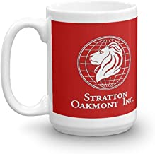 Stratton Oakmont Logo - The Wolf of Wall Street. 15 Oz Ceramic Coffee Mug Also Makes A Great Tea Cup With Its Large, Easy to Grip C-handle