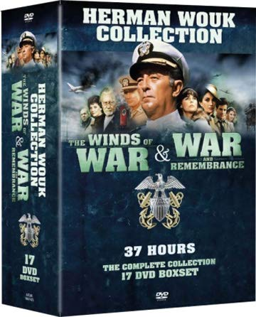 The Winds of War & War and Remembrance - 17-DVD Box Set [ NON-USA FORMAT, PAL, Reg.0 Import - Sweden ]