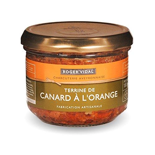 Roger Vidal - Pastete Ente mit Orange (Terrine de Canard à l'Orange) 180 g