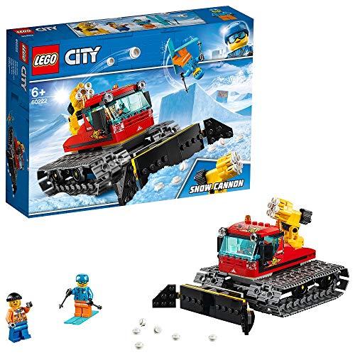 LEGO City - Great Vehicles Máquina Pisanieves, Juguete Divertido de Construcción de Camión Quitanieves (60222)