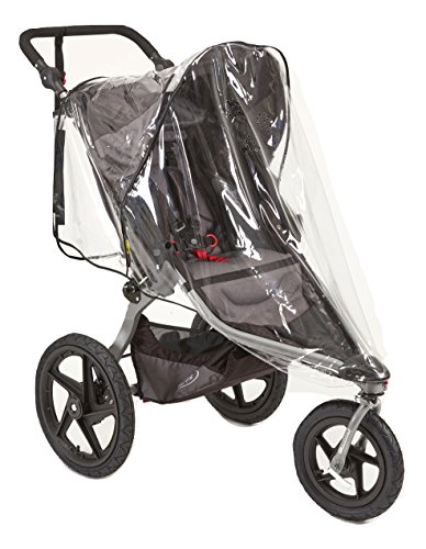 Sasha's Rain and Wind Cover for Baby Jogger City Mini/ City Mini GT and Bob Revolution Jogger Strollers