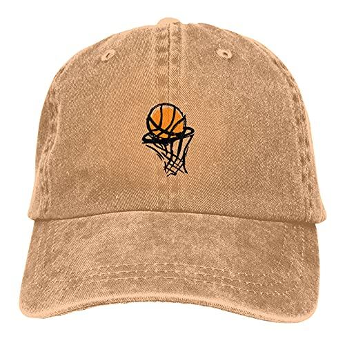 HUMYBEN Gorra abstracta de baloncesto con acuarelas, gorra de béisbol de algodón, ajustable, unisex, para regalo de papá, marido, amigo, hermano, tío, abuelo, abuelo negro, natural, M
