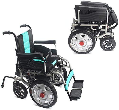 XSARACH Intelligente elektrische rolstoel, mobiele rolstoel, draagbare opvouwbare lichte elektrische rolstoel, comfortabele caravan, oudere mobiele auto