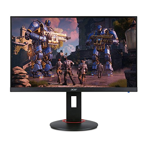 Acer XF270H Bbmiiprx 27' Full HD (1920 x 1080) Zero Frame TN AMD FreeSync and NVIDIA G-SYNC Compatible Gaming Monitor - 1ms | 144Hz Refresh (Display Port 1.2 & 2 x HDMI 2.0 Ports),Black