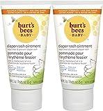 Burt's Bees Baby 100% Natural Origin Diaper Rash Ointment - 3 Ounce Tube - Pack of 2