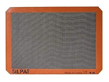 Silpat Silpain Premium Non-Stick Silicone Baking Mat for Bread 11-5/8 x 16-1/2 Black