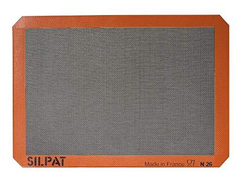 Silpat Silpain Premium Non-Stick Silicone Baking Mat for Bread, 11-5/8 x 16-1/2