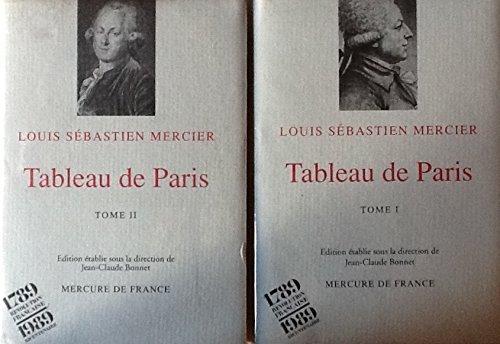 Tableaux de Paris Tome 1, Tome 2 et atlas