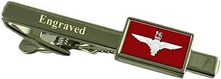 Select Gifts Reggimento paracadutisti militari bandiera Inghilterra Clip incisa in una custodia