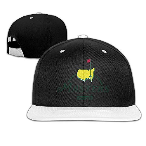 Fashionable Masters Golf Logo Adjustable Baseball Hip-hop Caps White