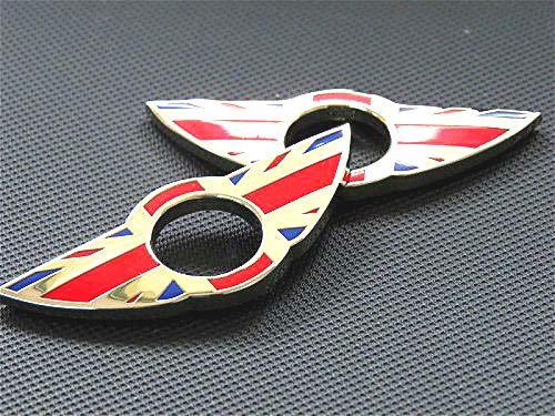 bester Test von mini cooper s clubman Red England Türschild Emblem für MINI Cooper / S / ONE / Roadster / Clubman / Coupé