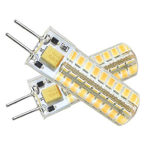 Ymm Novità G6.35 GY6.35 Lampadina LED 5W Lampadina Alta Luminosità Equivalente a Lampadina Alogena 60 Watt 12V Bianco Caldo 3000K (Confezione da 2) [Classe Energetica A +]