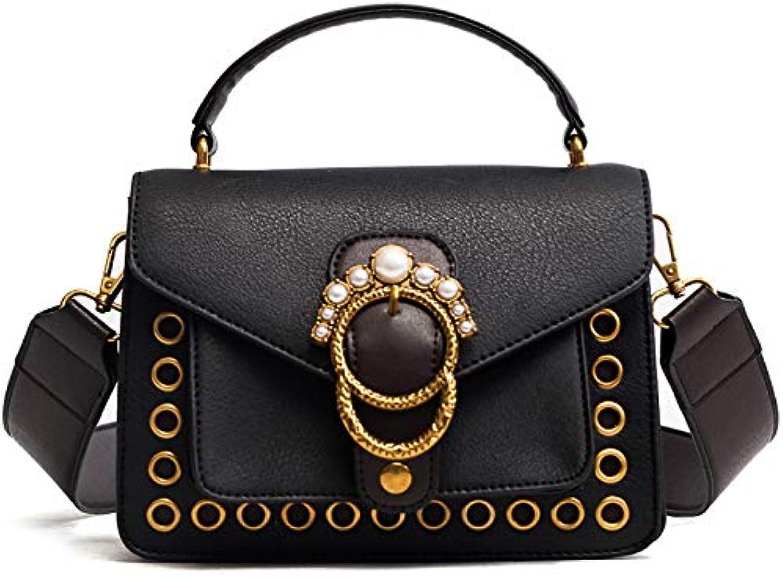 AI BAO Women's Fashion Party Bag Retro Shoulder Messenger Bag