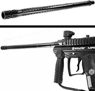 Trinity Accurate Barrel Black for Spyder mr100 Paintball woodsball Paintballing Paintballer Tactical Gear Accessory.