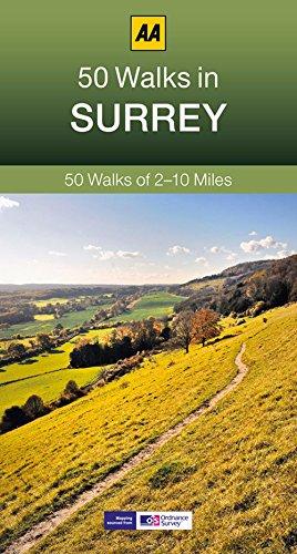 50 Walks in Surrey (AA 50 Walks series)