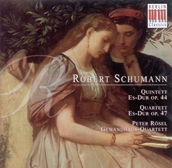 Robert Schumann: Piano Quintet / Piano Quartet (Peter Rösel, Gewandhaus Quartet)