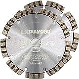 LXDIAMOND, 2 dischi diamantati, Ø 150 mm x 22,23 mm, per muratura di alta qualità, per fresatrice diamantata, fresatrice per muratura, fresatrice da parete, disco diamantato da 150 mm