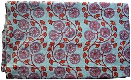 Handicraft Bazarr Hand Block Print Sanganeri New Handmade Fabric Challenge the lowest price of Japan ☆ Nashville-Davidson Mall