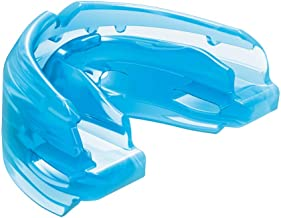 Shock Doctor Double Braces Mouth Guard. Upper and Lower Teeth Protection. Mouthguard No Boil / Instant Fit. For Youth, Tee...