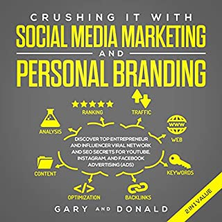 Crushing It with Social Media Marketing and Personal Branding in 2019 audiobook cover art