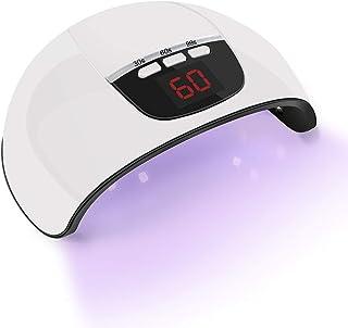Raintern LEDネイルドライヤー UVライト 45W ハイパワー LED硬化ライト自動センサー 15LED 高速硬化 2020最新版 ジェルネイルライトUVとLEDダブルライト ジェルネイル用