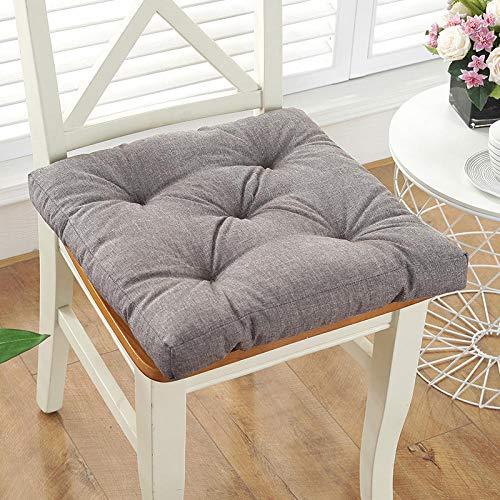 Yinneng Cojines para sillas,Asiento sedentario de Oficina Ass mattress-14_45 * 45cm,Cojin Coche