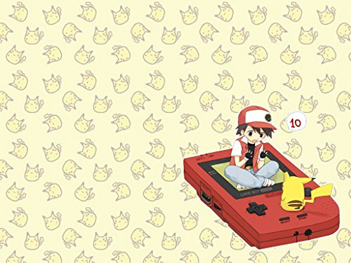 RFG REMOVE FROM GAME Ashe Pikachu Gameboy Playmat 24 x 14 inch Mousepad for Yugioh Pokemon Magic The Gathering