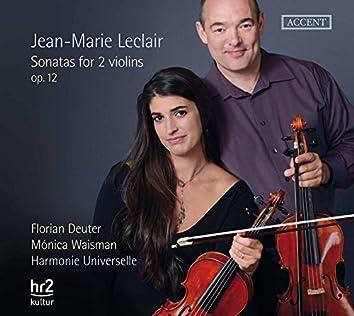 Leclair: Sonatas for 2 Violins, Op. 12