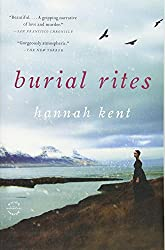 book cover for Burial Rites ~ books set in Iceland