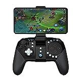 QCHEA Controlador de Juegos Bluetooth, Touchpad MOBA/FPS, Manija de Joystick inalámbrica de 33 Botones for Android Gamepad portátil
