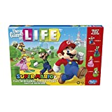 Hasbro Gaming The Game of Life: Super Mario Edition Board Game for Kids Ages 8 and Up, Play Minigames, Collect Stars, Battle Bowser