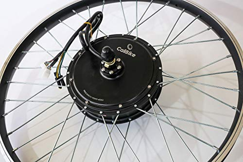 5000w Peak Hub Motor Electric Bike (ebike) Conversion Kit with Optional 72v Battery + LCD+ Rear Wheel (29' with 72V25AH)