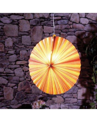 Lunartec Lampion en Papier Rond
