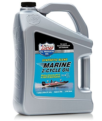 LUCAS LUCA10861 Synthetic Blend 2 Cycle TC-W3 Oil, Gallon