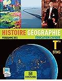 Histoire Géographie Education civique Tle STMG - Programme 2013