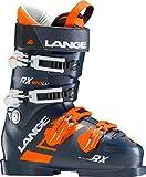Lange–botas de esquí RX 120L.V. hombre–hombre–talla 46–Negro, negro
